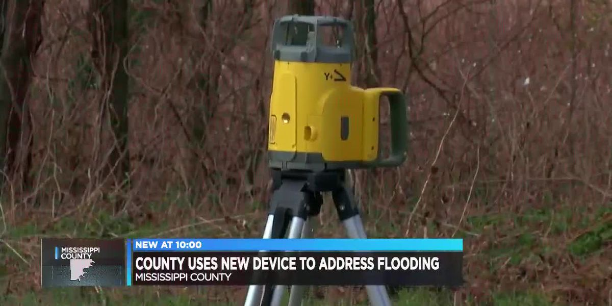 County using new technology to address flooding issues