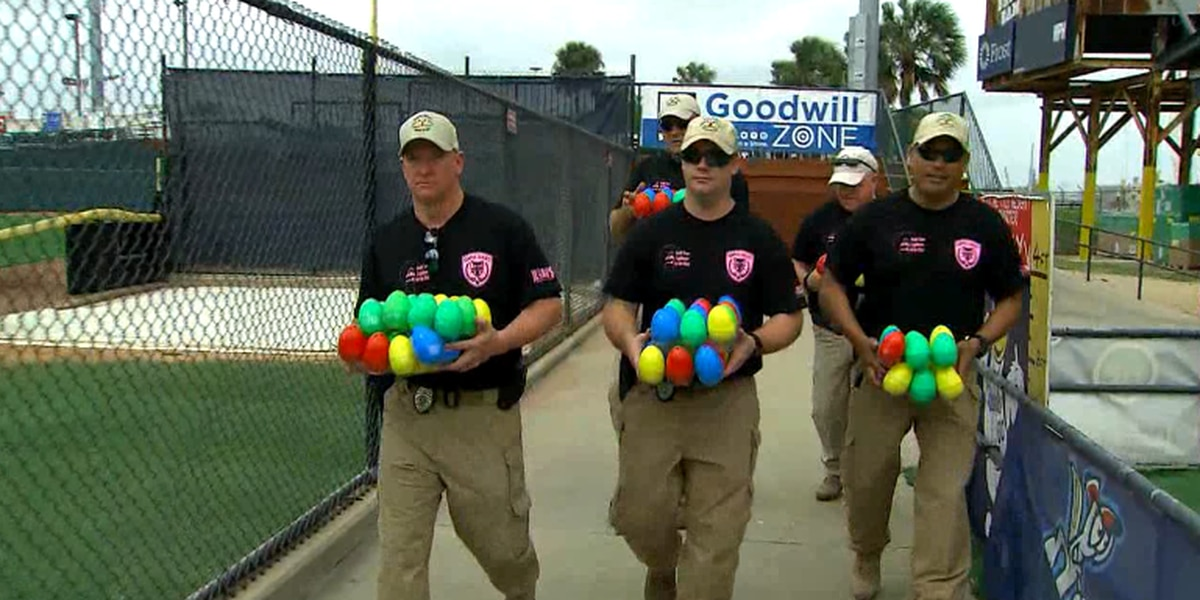 """Texas bomb squad to host """"beeping"""" Easter egg hunt for visually-impaired kids"""