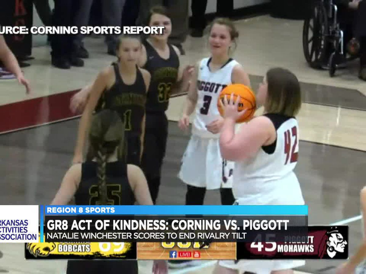 GR8 Act of Kindness: Corning/Piggott girls basketball