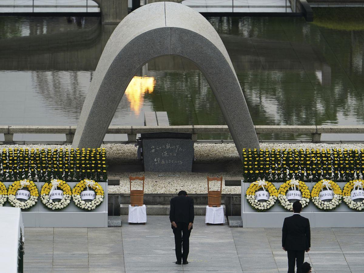 Survivors mark 75th anniversary of world's 1st nuke attack