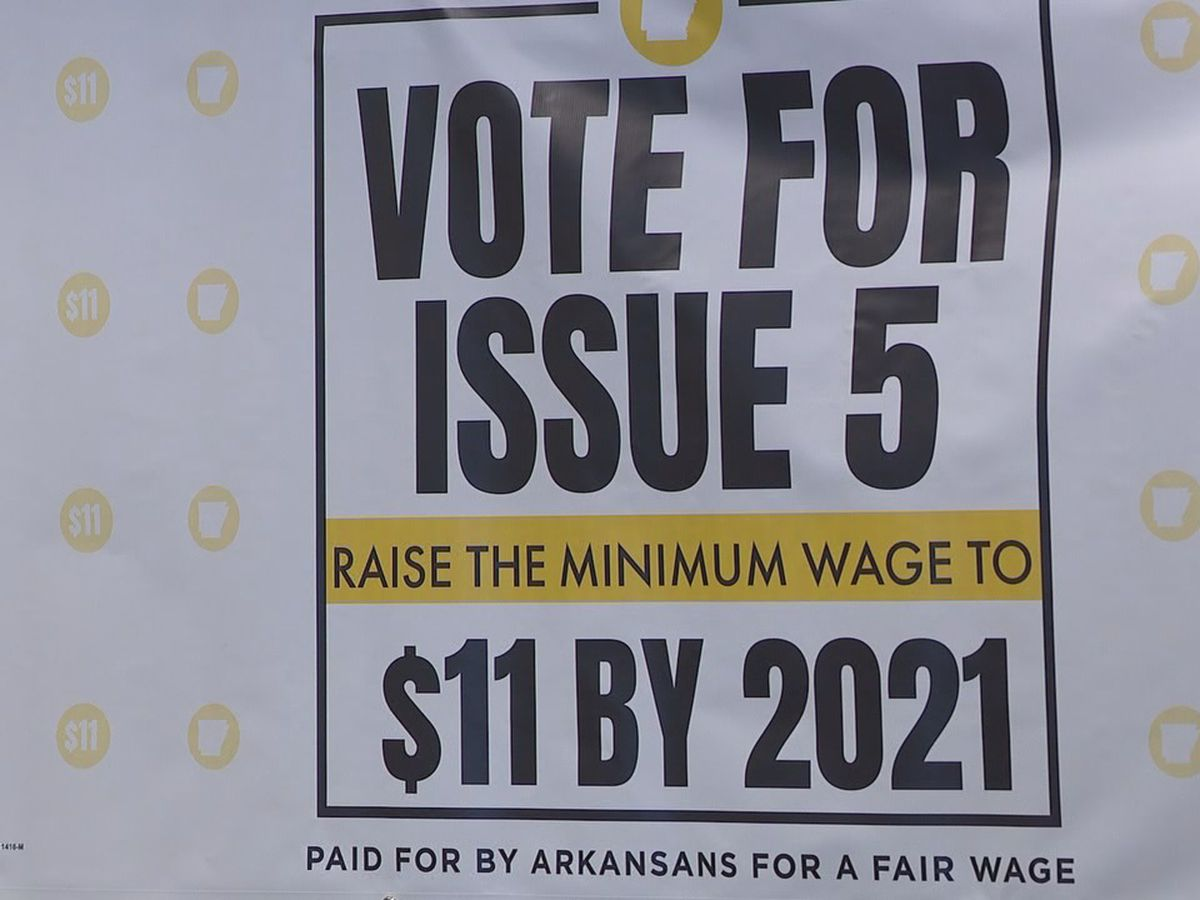 Minimum wage campaign continues ahead of November ballot