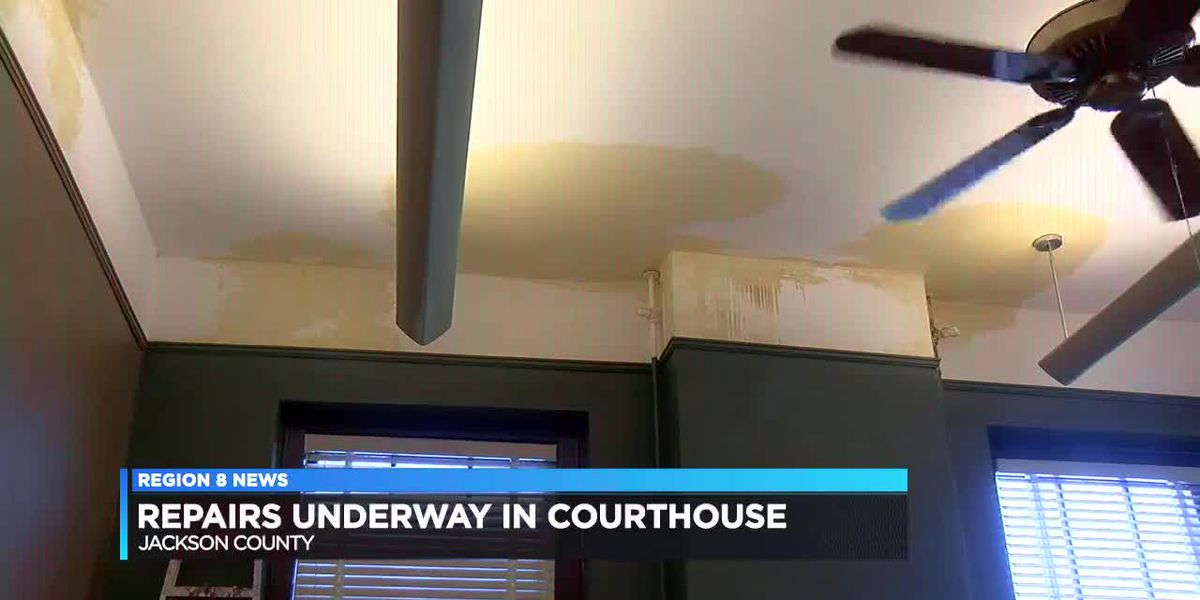 Water pipe bursts in Courthouse forcing repairs