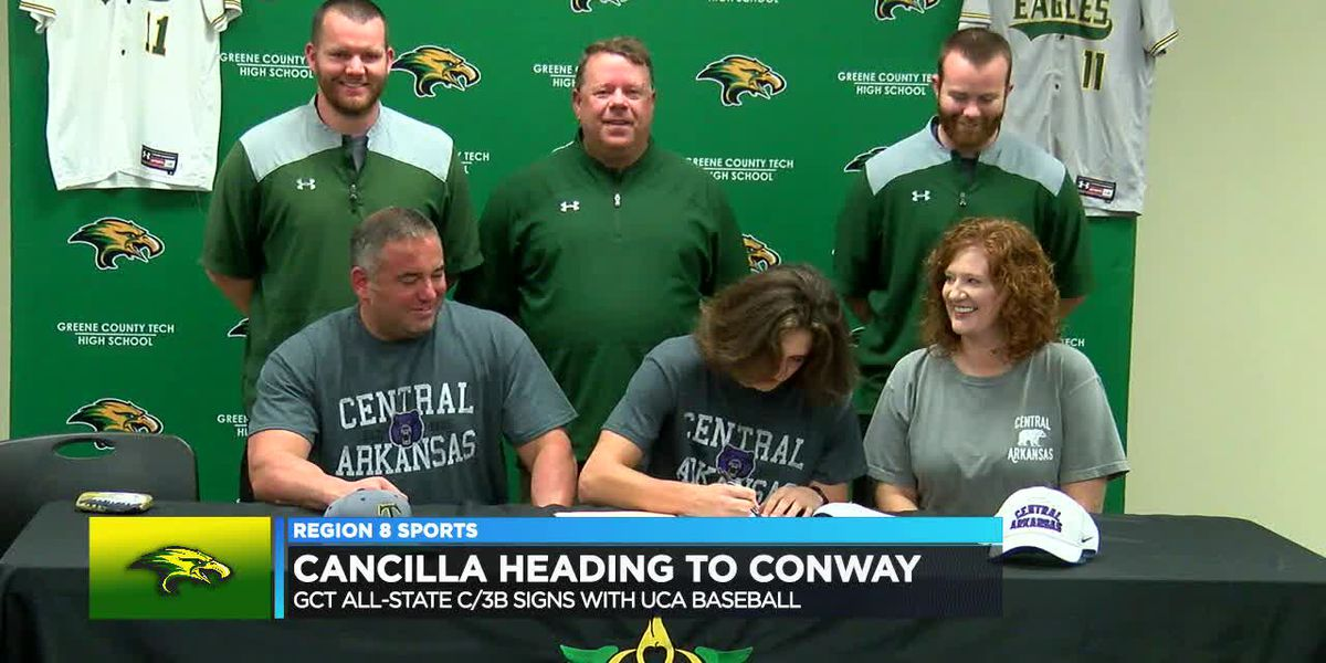 Greene County Tech C/3B Cade Cancilla signs with UCA