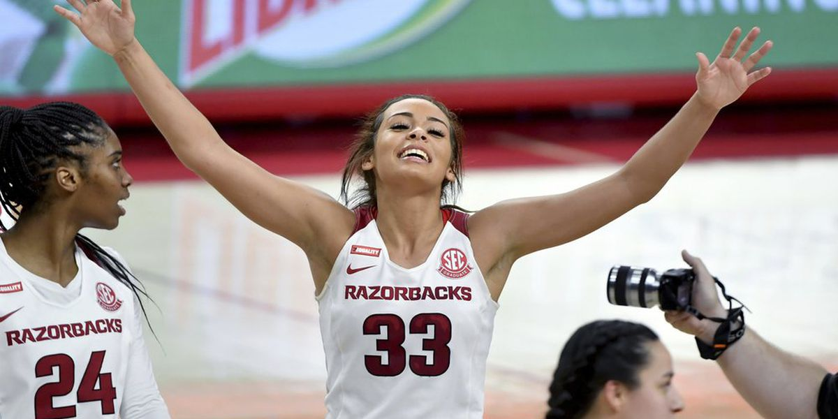 Arkansas guard Chelsea Dungee named to AP All-American Team