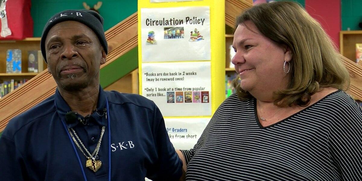 School employees, parents raise money to buy vehicle for Germantown custodian