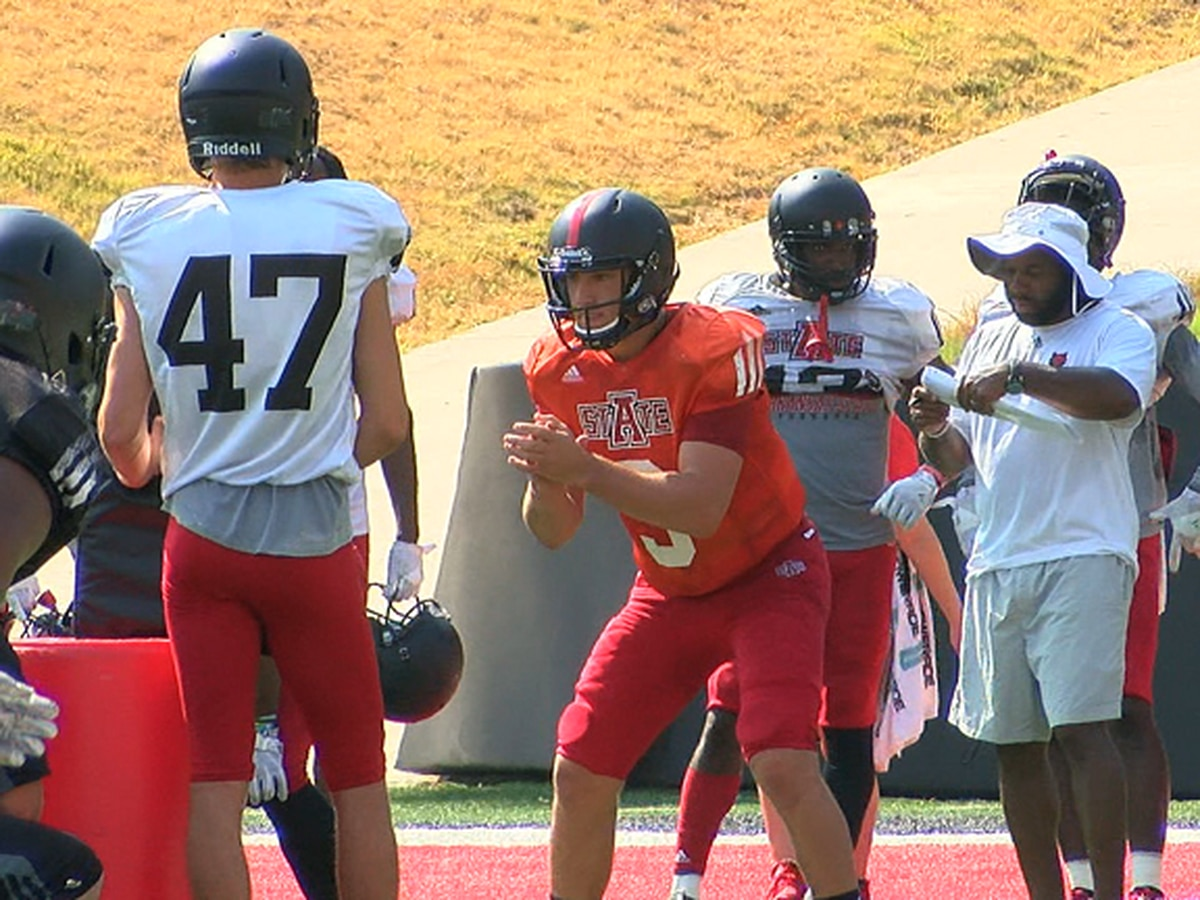 Arkansas State QB Layne Hatcher getting up to speed