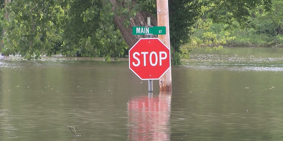 Heartland flooded roads, bridge information