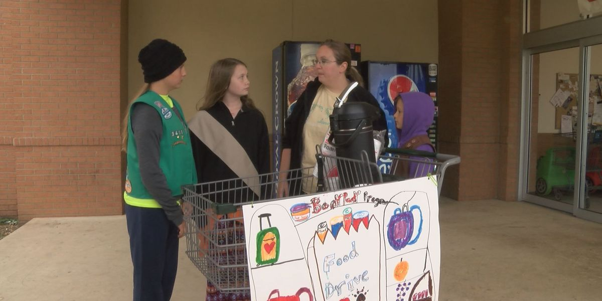 Girl Scouts hold food drive for Brookland backpack program