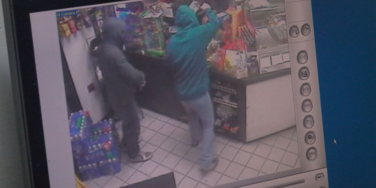 Police investigate 2 armed robberies within hours of each other