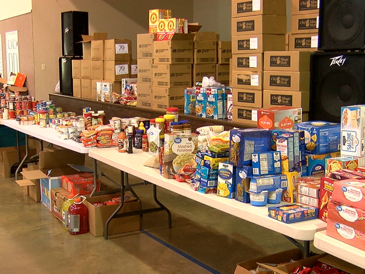 Jonesboro tornado victims can shop at a Donation Distribution Center