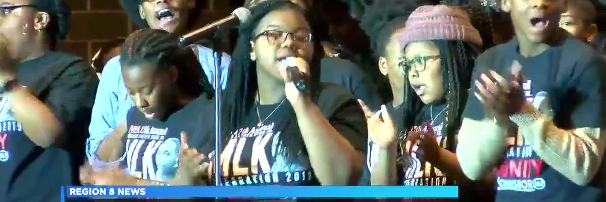 Youth celebration kicks off Martin Luther King Jr. Day