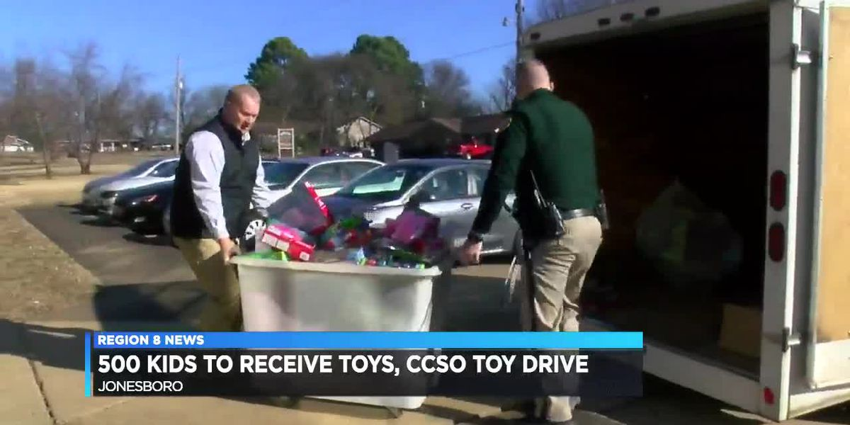 CCSO toy drive gathers gifts for 500 kids