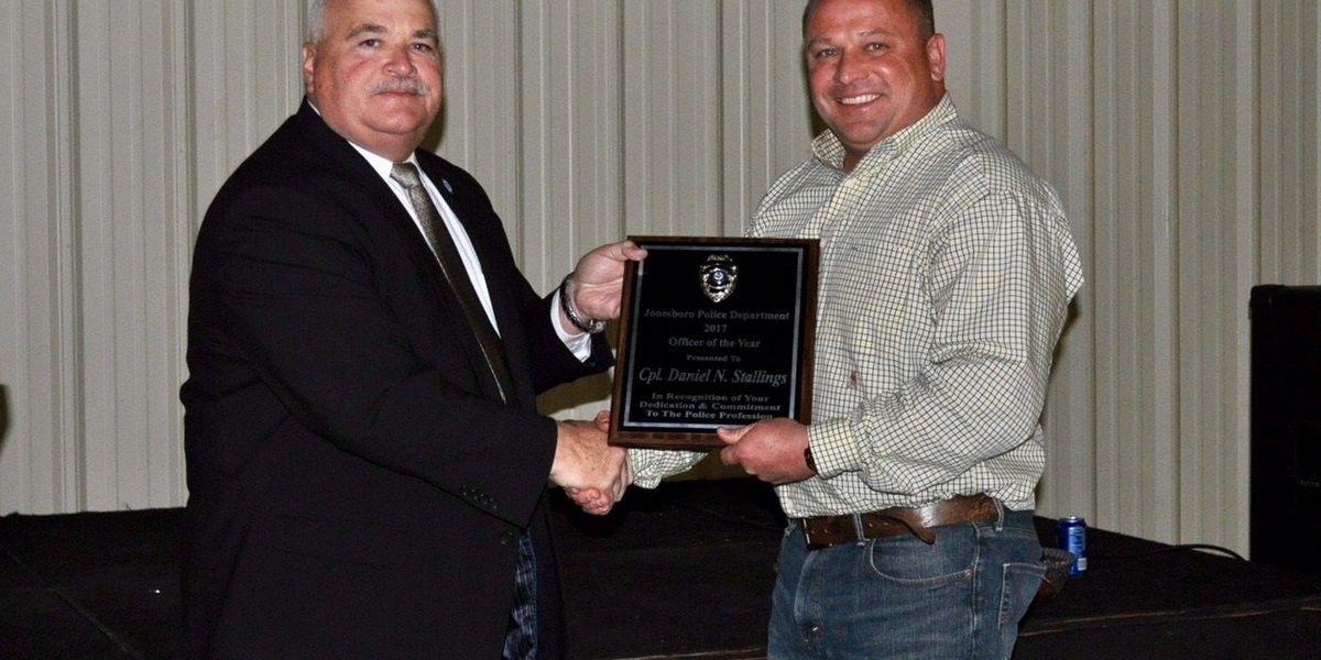 JPD Officer of the Year award announced