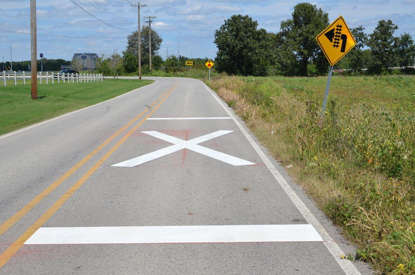 Street dept  performing safety upgrades
