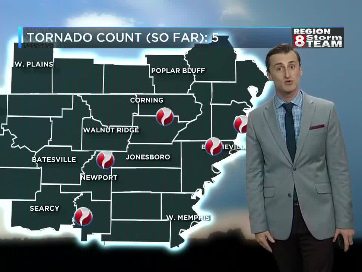 EF-0 tornadoes confirmed in Jackson, Pemiscot counties