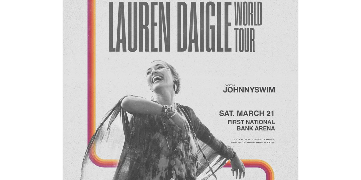 Lauren Daigle to perform at FNB Arena in March 2021
