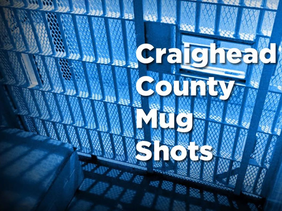 Craighead Co. mug shots, May 26-June 1