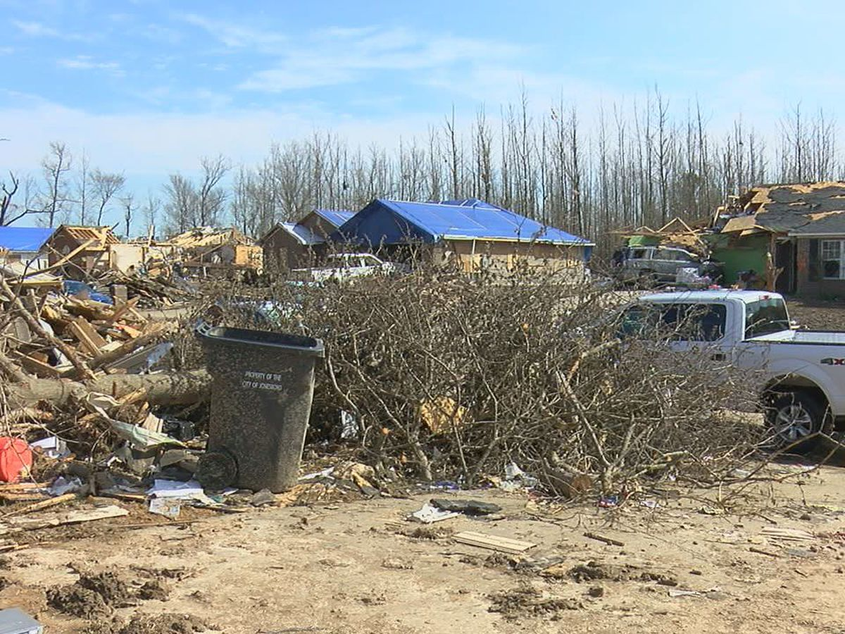 Neighborhood hit hard from tornado recovering and telling their story