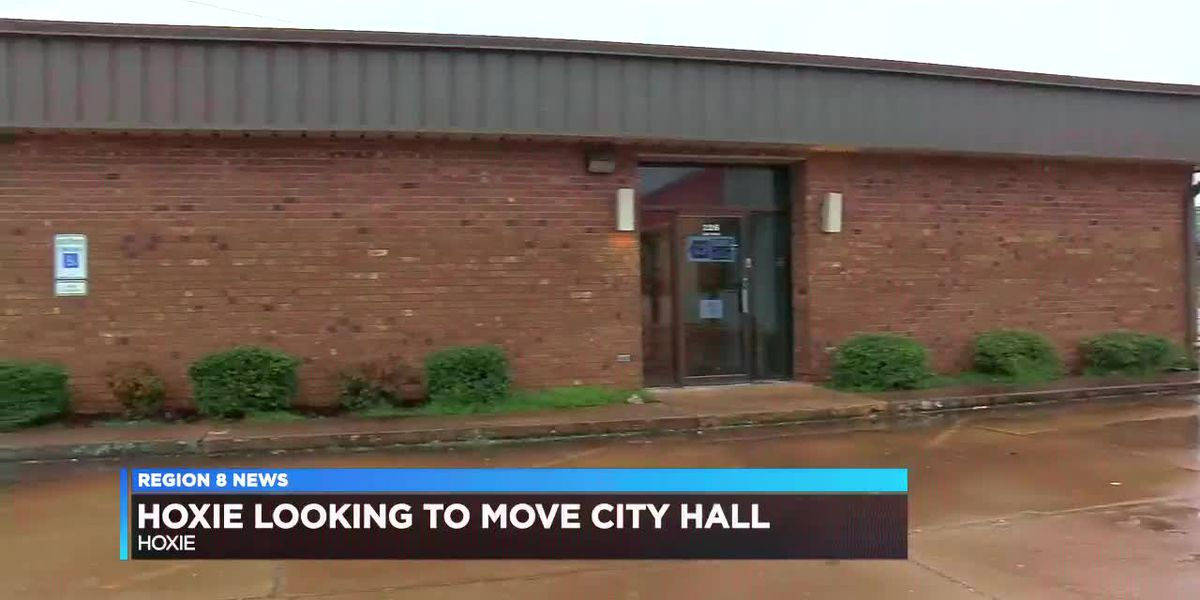 Hoxie looking to move city hall