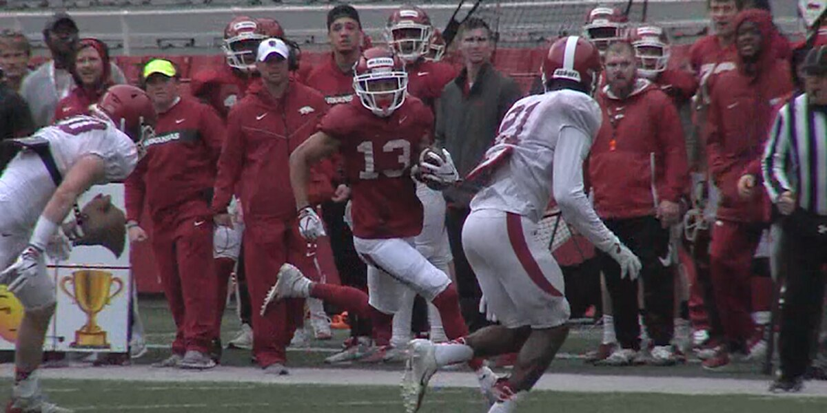 Arkansas scrimmages Saturday, one week away from Red-White Game