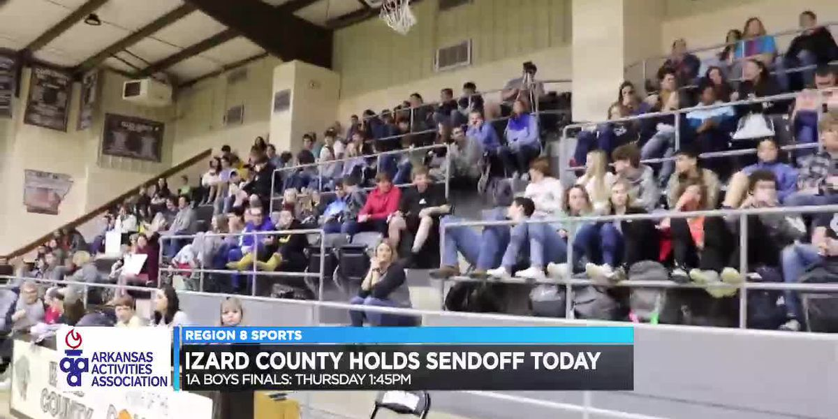 Izard County, Melbourne, & Viola hold state finals sendoffs Wednesday