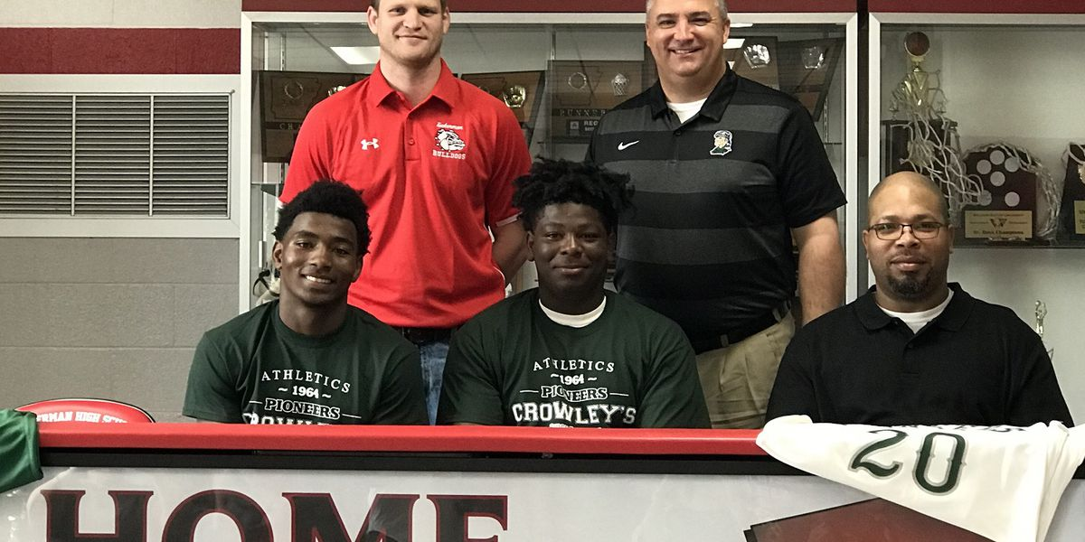 Roberson brothers sign with Crowley's Ridge basketball