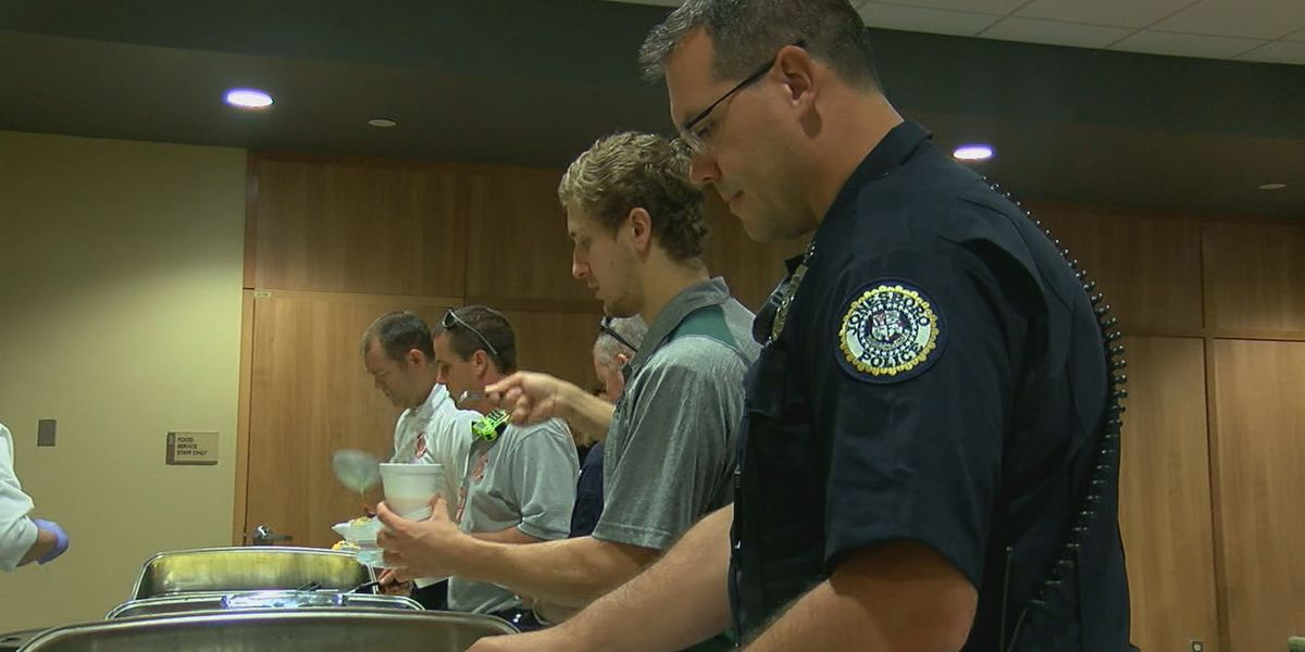 First responders honored with appreciation breakfast