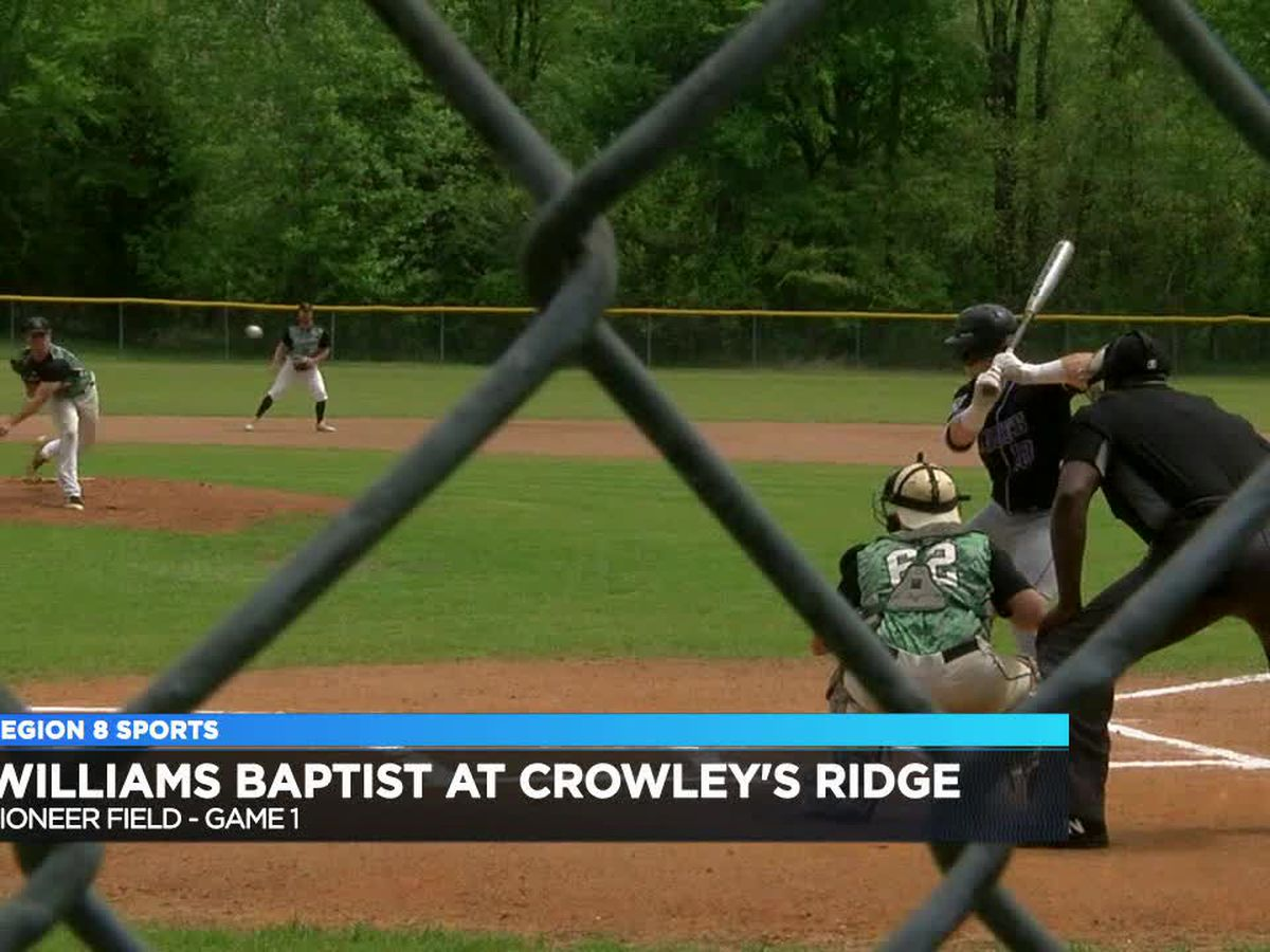 Williams Baptist sweeps Crowley's Ridge in baseball doubleheader
