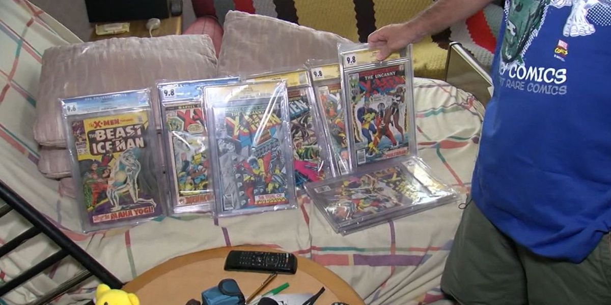 Man auctioning comic book collection to pay for cancer treatment