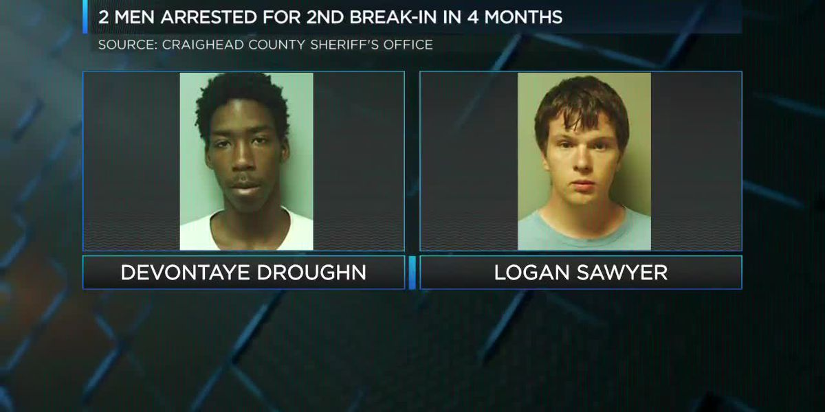 2 burglary suspects arrested again