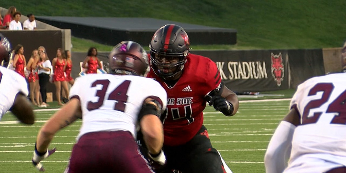 Arkansas State OL Andre Harris Jr. named to Wuerffel Trophy watch list