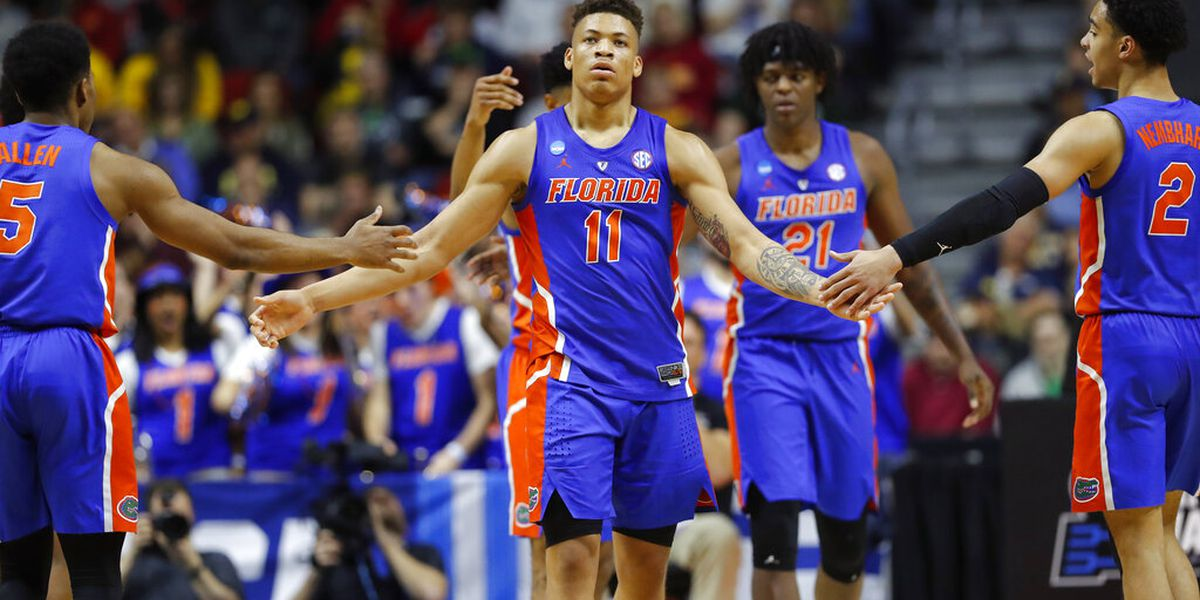 Parents: Florida Gators' Keyontae Johnson is breathing on his own, FaceTimed team