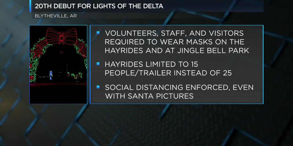 20th debut for Lights of the Delta