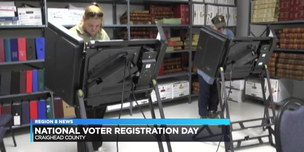 National Voter Registration Day in Craighead County