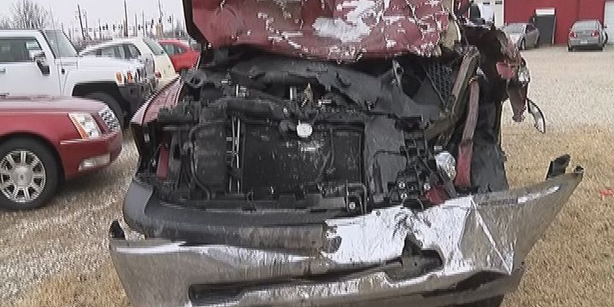 High speed chase ends after car goes airborne