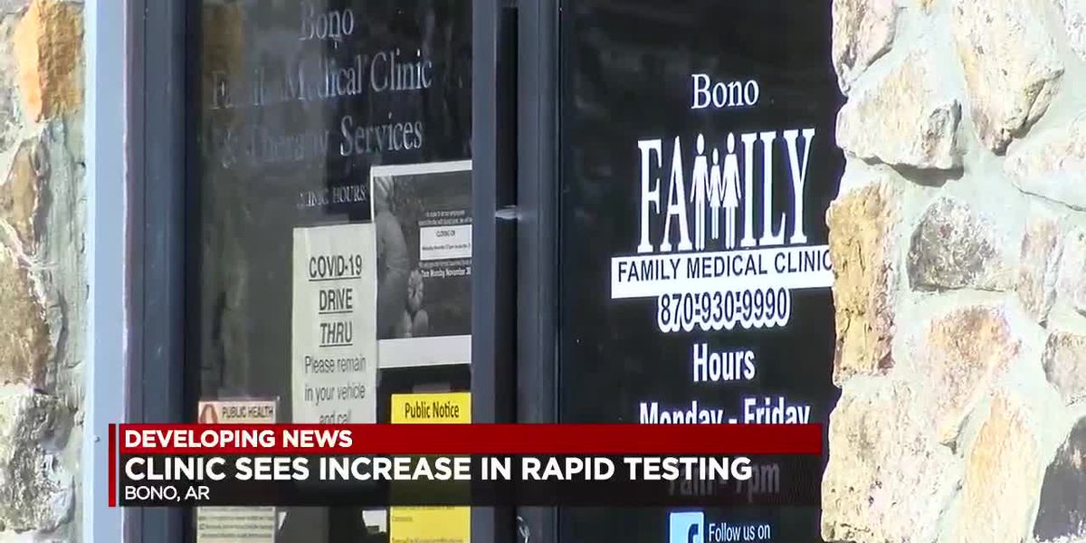 Local medical clinic sees increase in COVID-19 tests and positivity rates