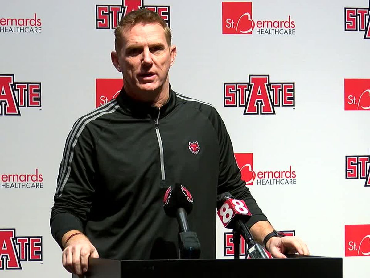 Arkansas State football coach Blake Anderson reveals he tested positive for COVID-19 earlier this month