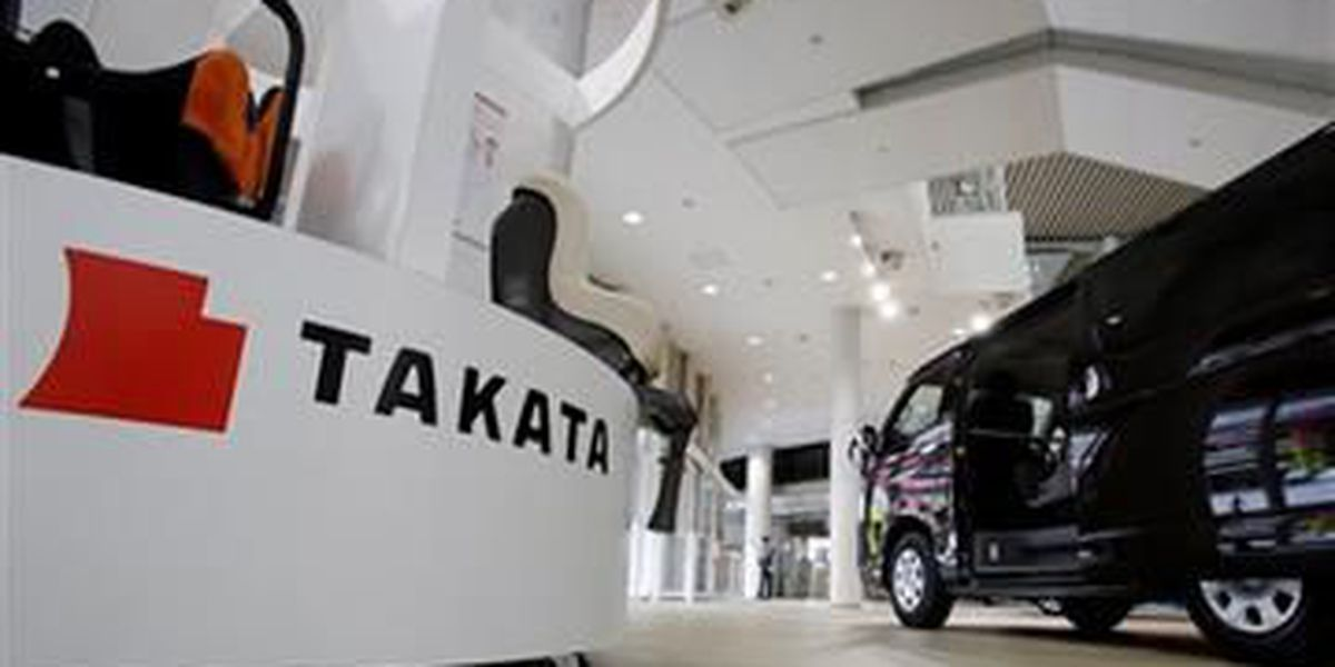 HAPPENING NOW: More vehicles recalled for problem Takata air bag inflators