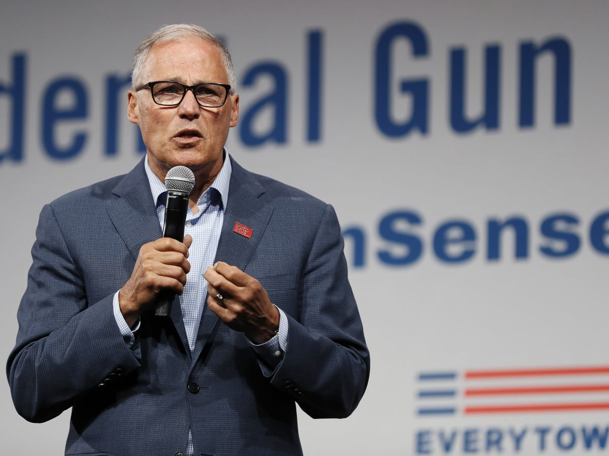 Washington Gov. Jay Inslee says he's ending presidential bid