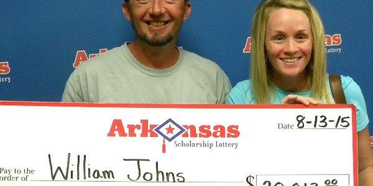 Highland man gets lucky with lottery