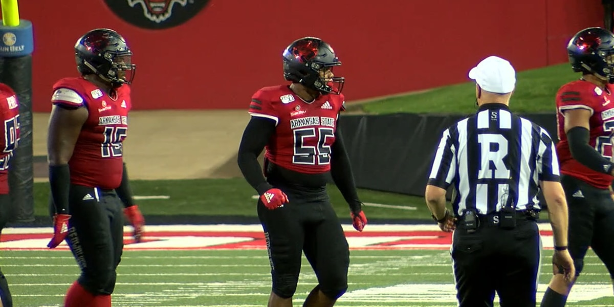 Arkansas State alum Aaron Donkor selected to compete in 2021 NFL International Player Pathway Program