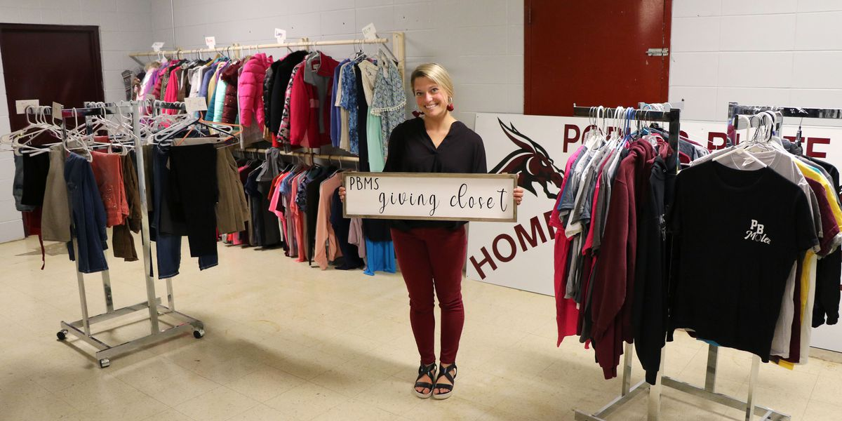 Poplar Bluff Middle School 'Giving Closet' opens for students in need
