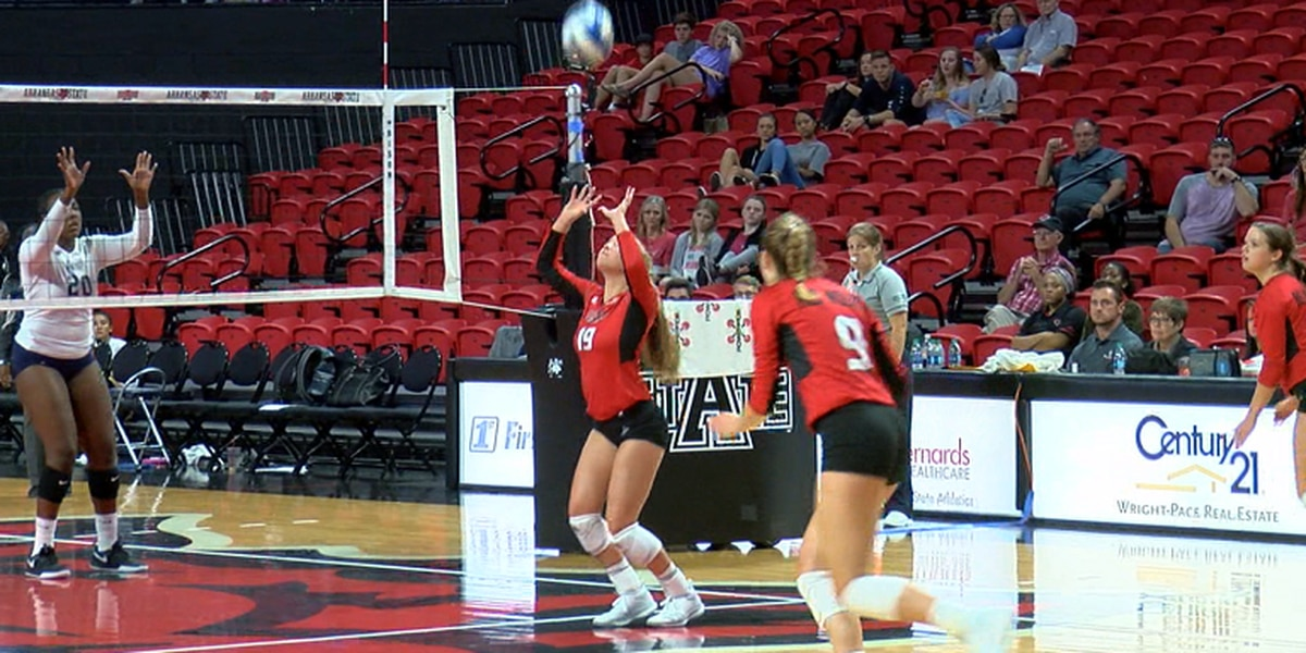 Cramer has 26 assists as A-State volleyball wins 6th straight game