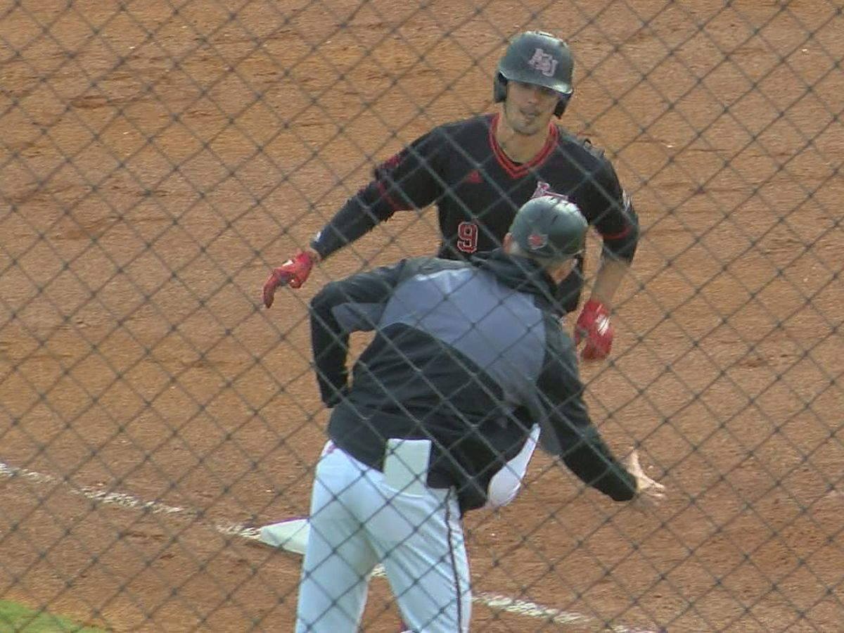 Arkansas State baseball picks up first win of 2020