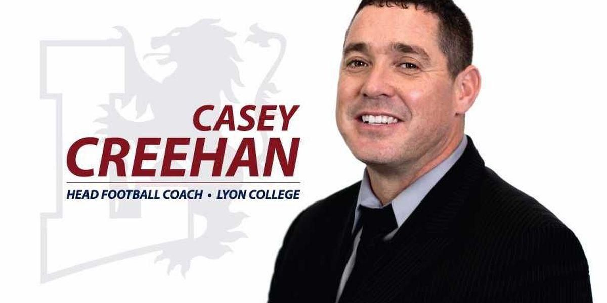 Lyon Selects Casey Creehan As Head Football Coach