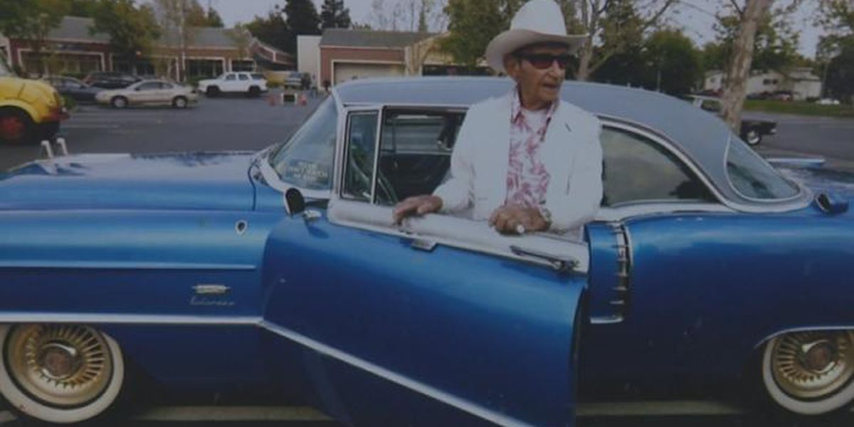 106-year-old veteran's classic car comes home after theft