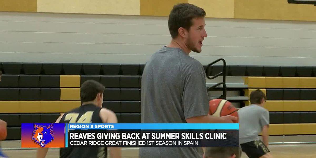 Cedar Ridge great Spencer Reaves giving back at Summer Skills Clinic