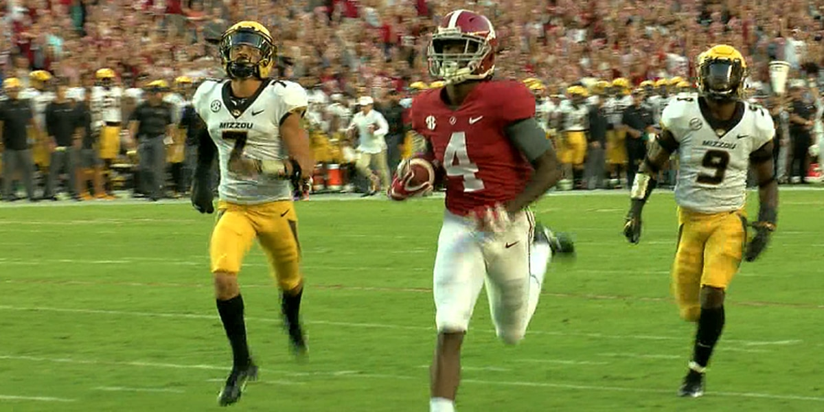 Missouri falls to #1 Alabama 39-10