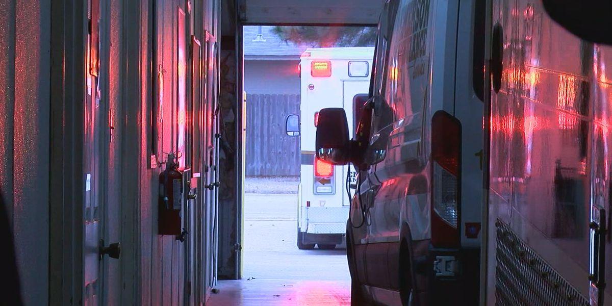 Ambulances double up on supplies ahead of coronavirus