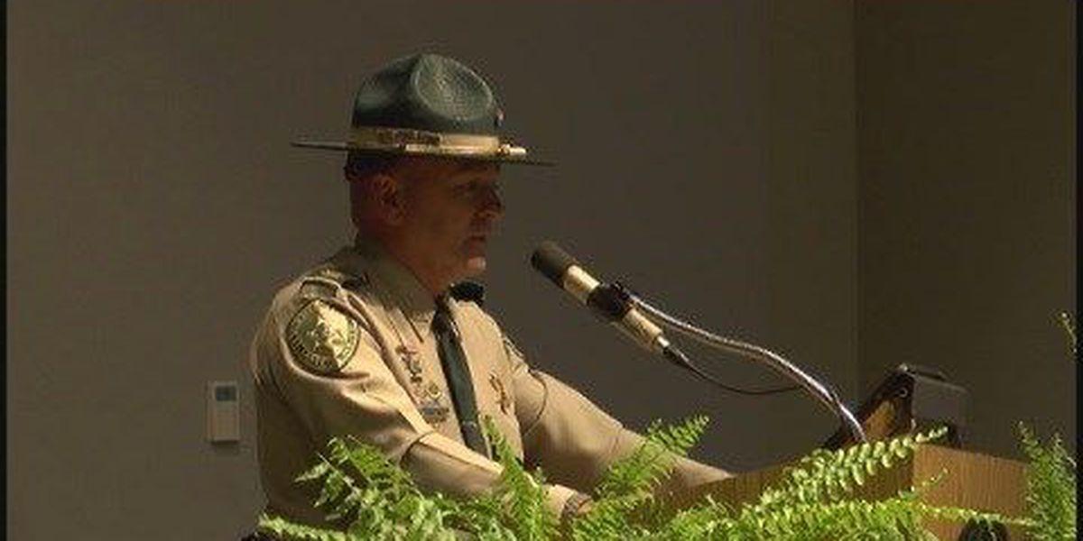 Internet CrimeStoppers star speaks at BRTC law enforcement graduation